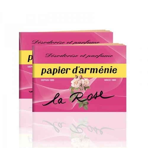 papier d armenie geurboekjes la rose bezorgkosten t m 3 boekjes. Black Bedroom Furniture Sets. Home Design Ideas